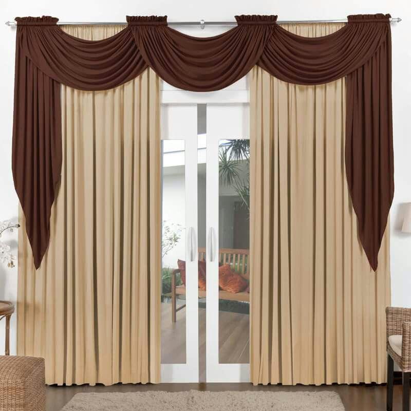 Rec mara poner cortinas caf s dorado atr s y complementar con lienzos caf oscuro decoracion - Cortinas originales para dormitorio ...