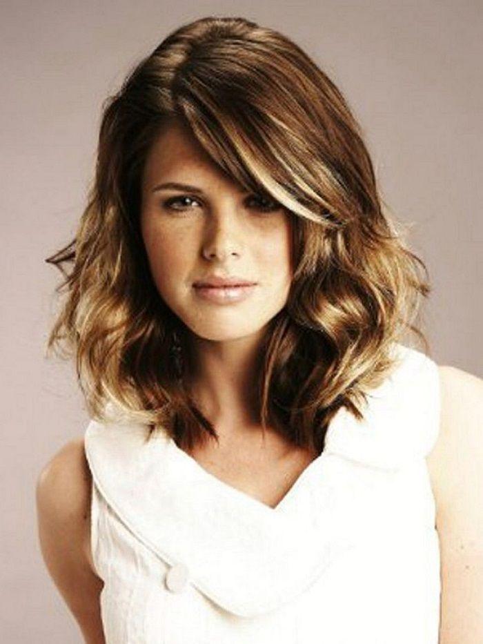 Medium Length Wavy Hairstyles Medium Length Trendy Hair Styles For Wavy Hair  Fashion  Pinterest