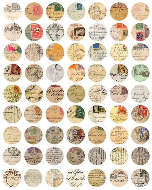 círculos vintage