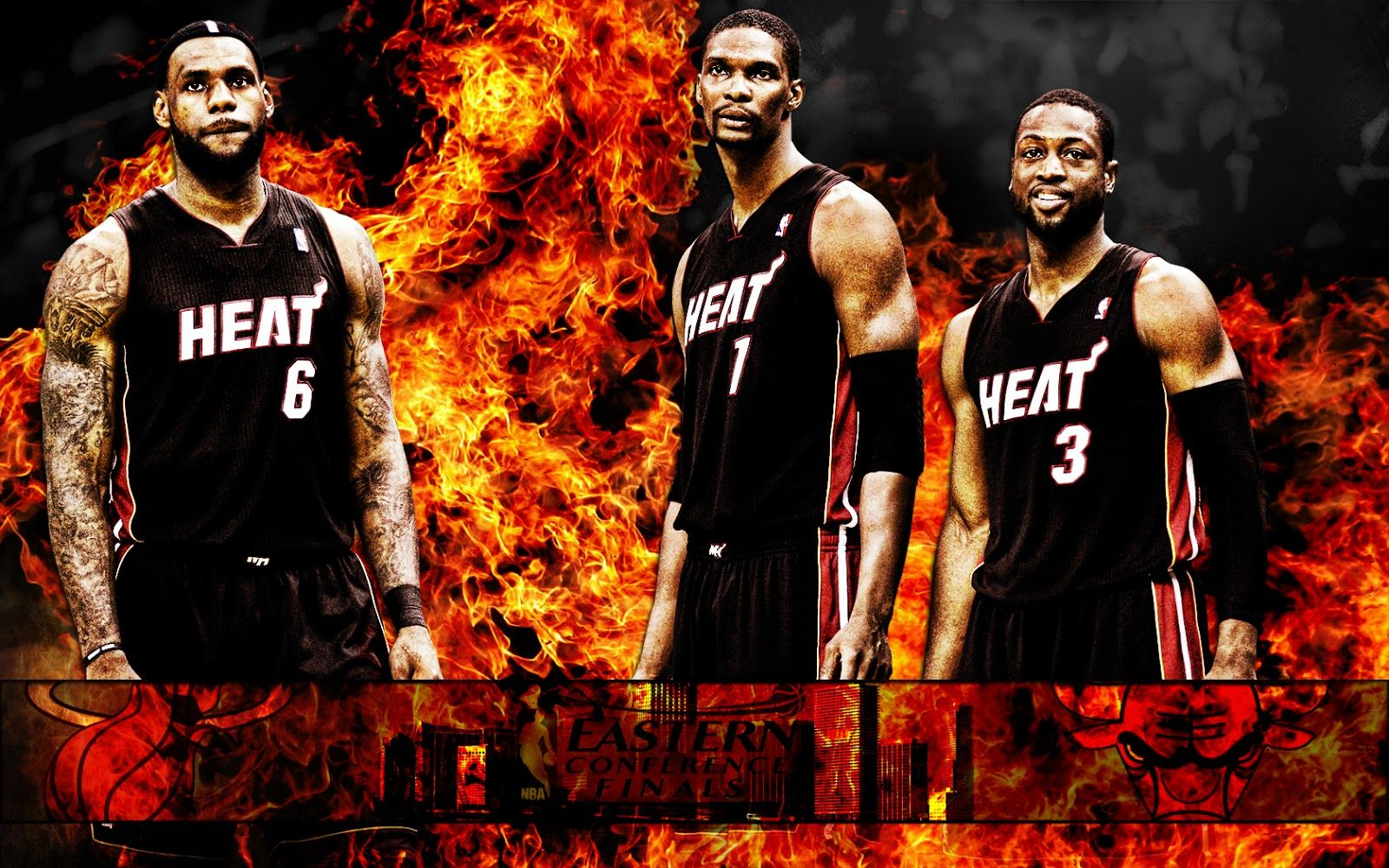 Miami Heat Big Three 2013 Wallpapers Miami Heat Lebron James Miami Heat Nba Miami Heat
