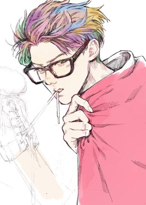 Anime boy fan art tumblr images for Fan art tumblr