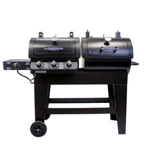 Brinkmann, 3-Burner Dual Function Gas/Charcoal Grill, 810-6340-S at