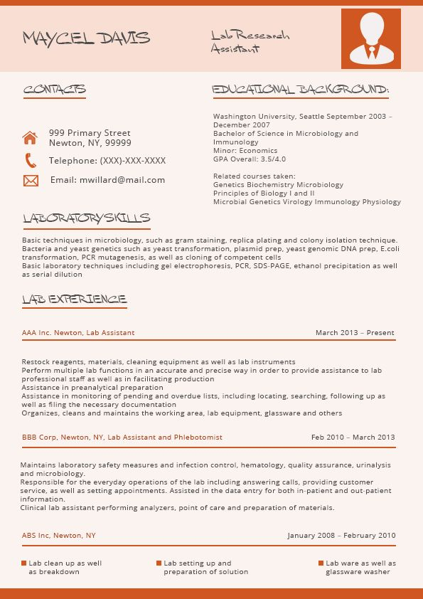 The Company Guarantees To The Customer For The Best Resume Trends
