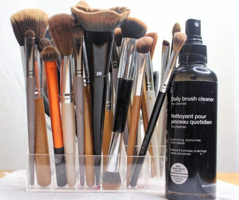 How To Clean Makeup Brushes Fast Daily 5ftsix Makeupbrushesforbeginners How To Clean Makeup Brushes How To Wash Makeup Brushes Clean Makeup