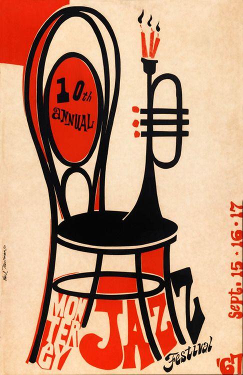 Monterey Jazz Festival 1967 Repinned Via Scott Barske Jazz Poster Jazz Festival Jazz Festival Poster