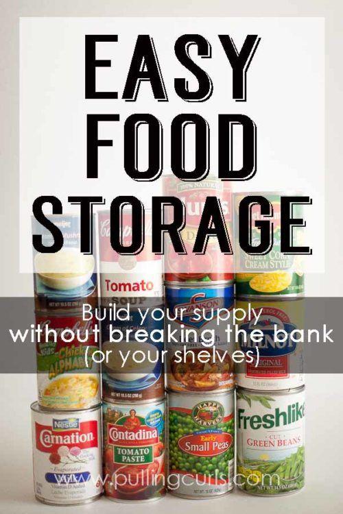 Long Term Food Storage Lds Food Storage Canned Food Storage