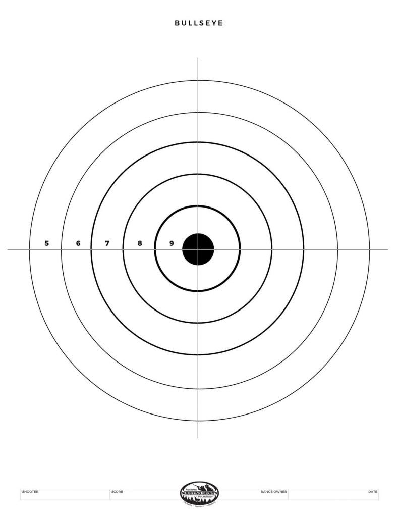 This is a photo of Wild Air Rifle Targets Pdf