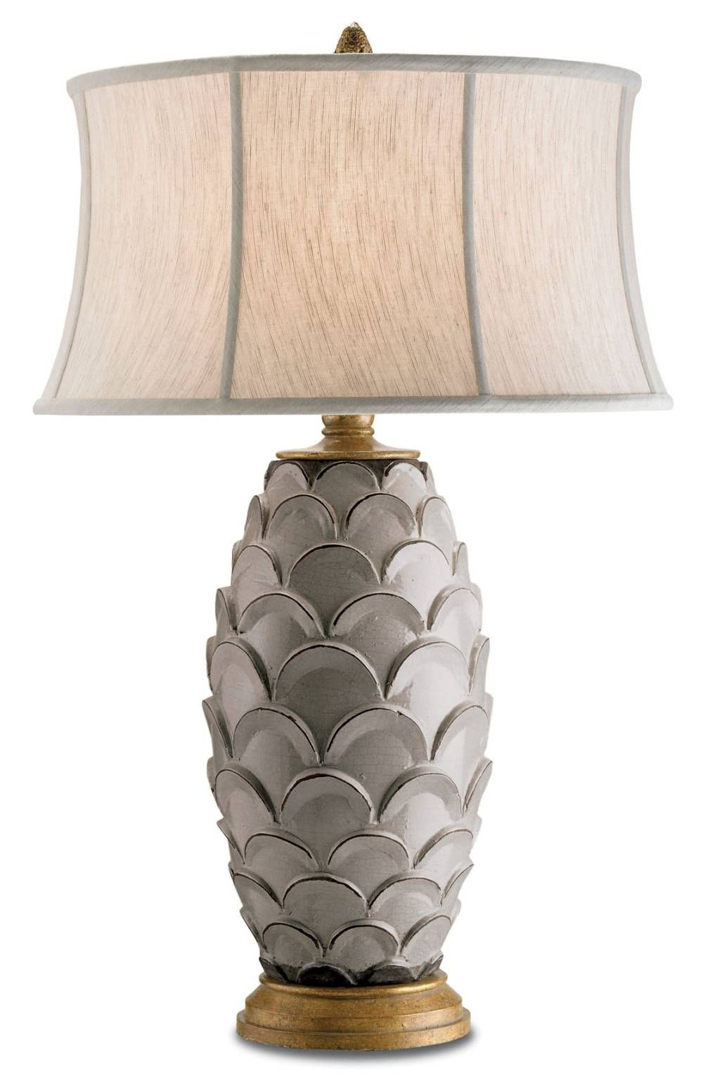 Shorely Chic Shell Lamp