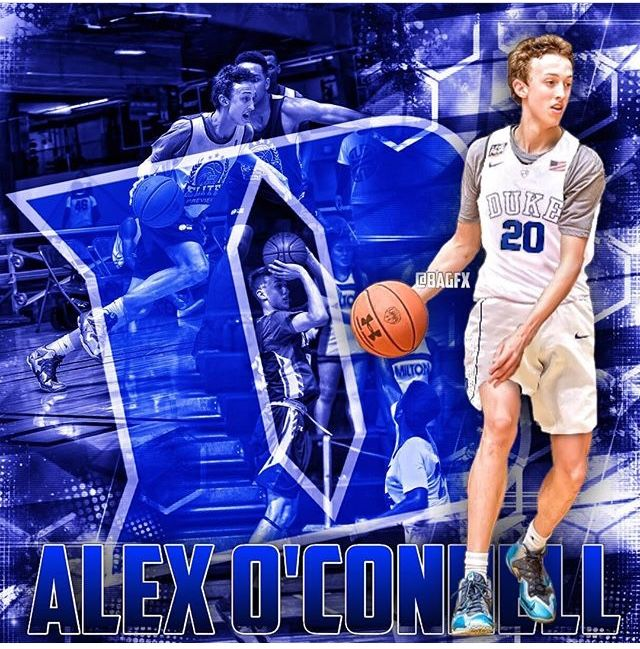 Alex O'Connell Duke basketball, Sports jersey, Alex