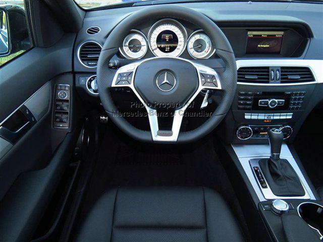 2013 MercedesBenz CClass 4dr Sdn C250 Sport RWD interior