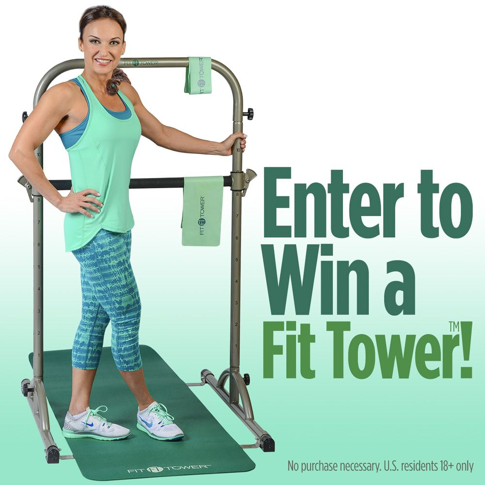 Sign up now through June 29th for your chance to win a free Fit Tower™ The tower is back and better than ever…announcing the new Fit Tower™!!! Win a new Fit Tower™ before they are available to the public! Yes, you heard right! We're giving away the new Fit Tower™ with all the accessories to …