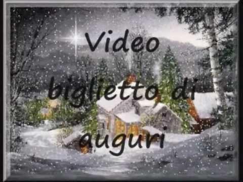 Biglietti Di Natale Video.Video Biglietto Auguri Di Natale Auguri Natale Natale Buon Natale