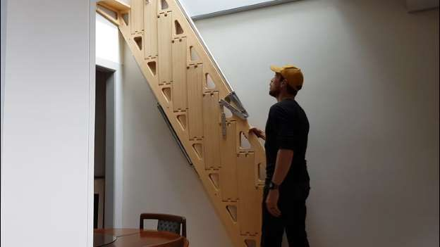 Collapsible Stairs Bcompact Hybrid Stairs And Ladders Clever