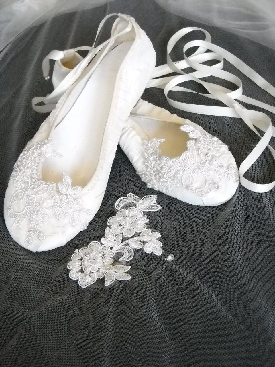 Cinderella Bridal Shoes Ballet