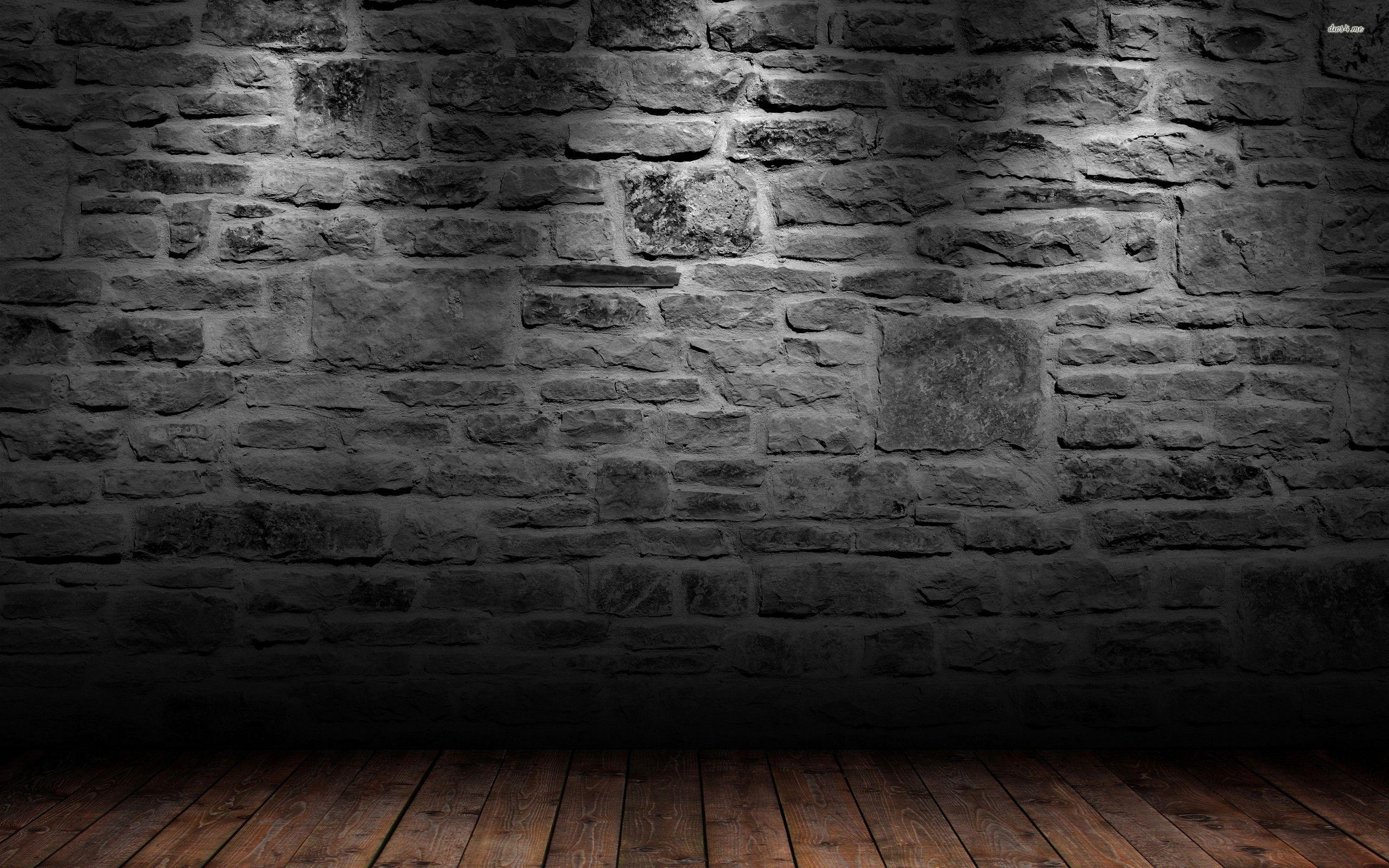 Brick wall and wood floor HD wallpaper Brick wall