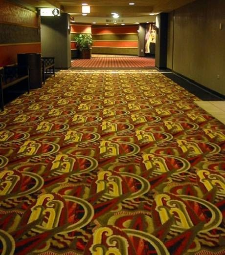 A Celebration Of Movie Theatre Carpets Theatre Interior Cinema