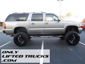 2000 Chevy Suburban Lifted Truck Autos