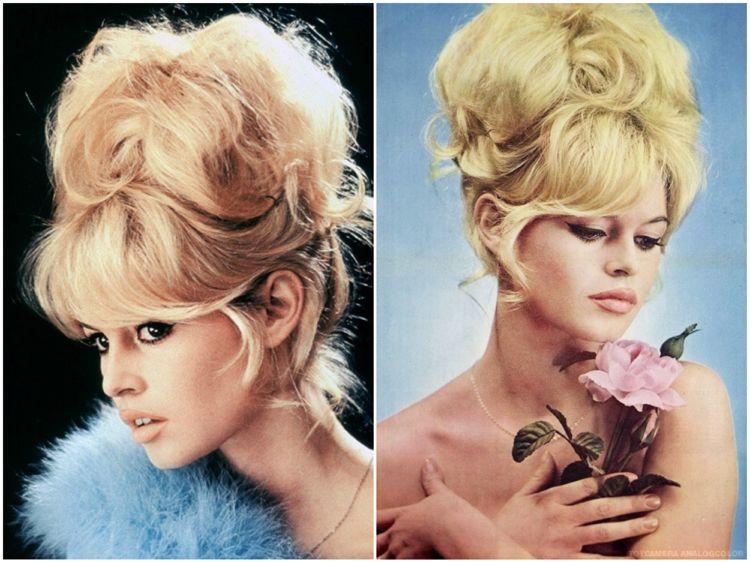 Brigitte Bardot Frisur Dutt Pony Xxl Format Haar Styling Trendige Frisuren Styling Kurzes Haar