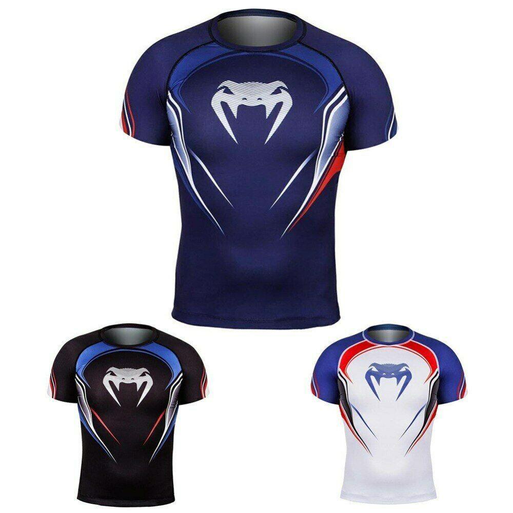 7ffe934eb6 Raglan Sleeve venom 3D Printed T shirts Men Compression Shirts 2019 Summer  NEW #fashion #