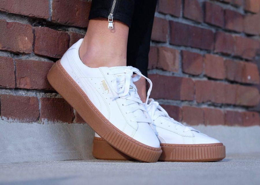 chaussures puma cuir femme