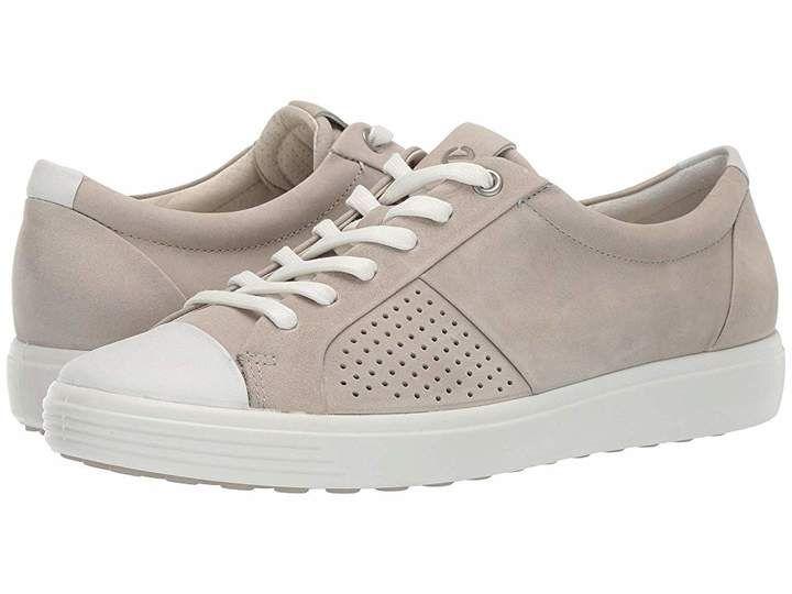 Ecco Soft 7 Cap Toe | Leather \u0026 suede