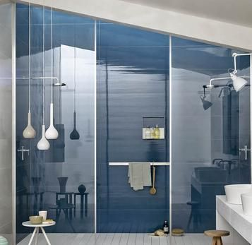 Colourline Polished Tiles For Bathroom Wall Coverings Marazzi - Public bathroom wall panels