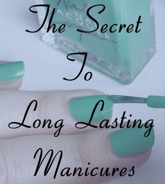 Extend your manicure wear time with this simple step via @All Lacquered Up