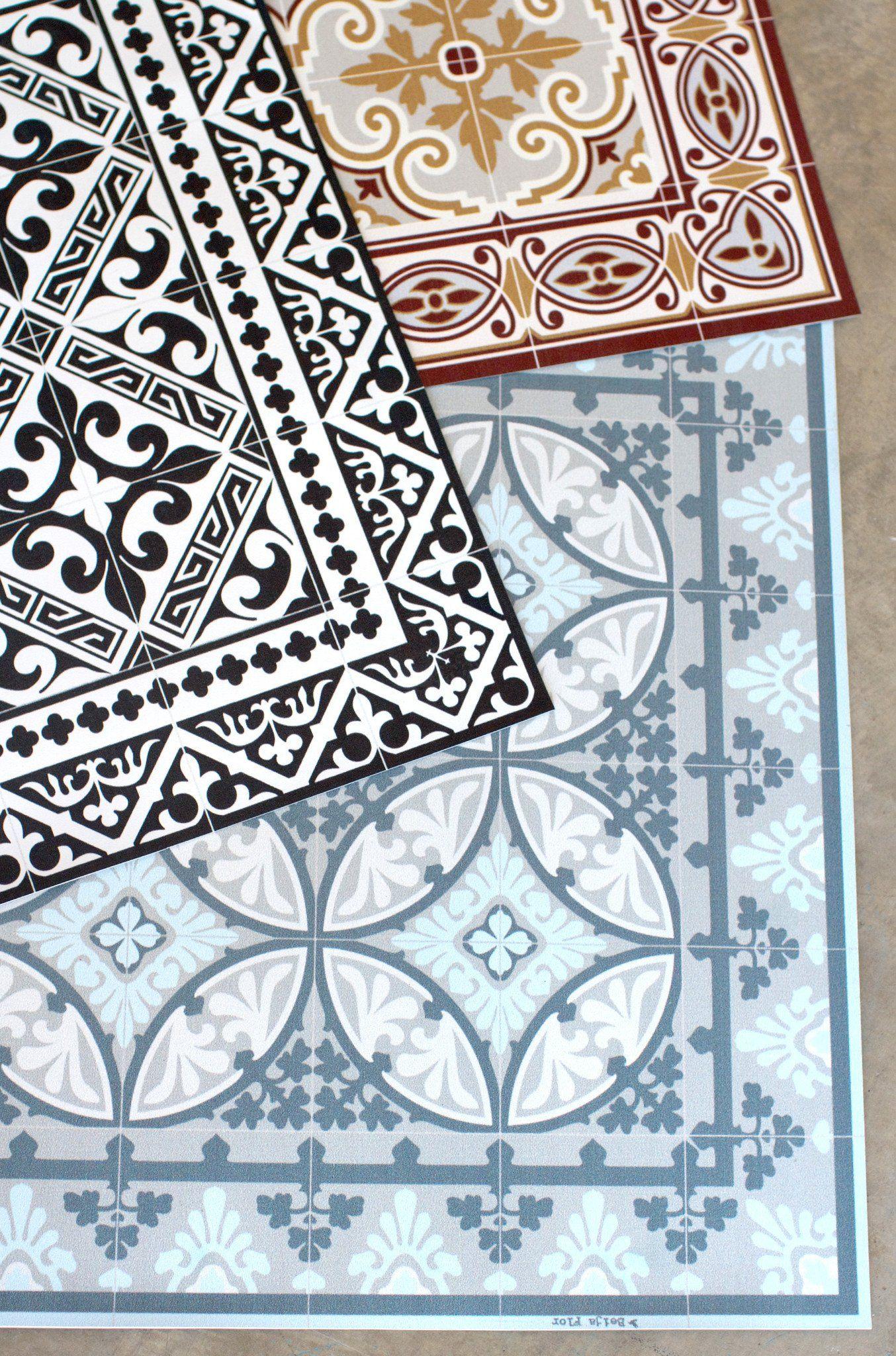 Moroccan tile vinyl floor runner lily ashwell for the