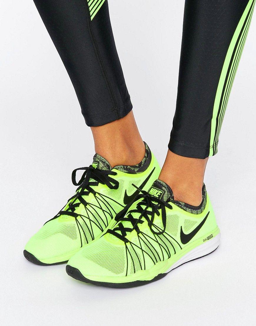 pretty nice cf415 dd0ec Zapatillas de deporte amarillo flúor Dual Fusion de Nike. Zapatillas