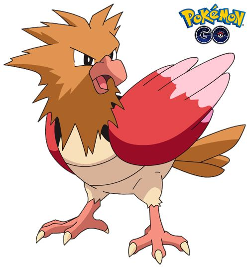 Spearow 1 de Pokémon Go