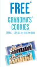 FREE Grandma's Cookies at 7-Eleven Today on http://www.icravefreebies.com/