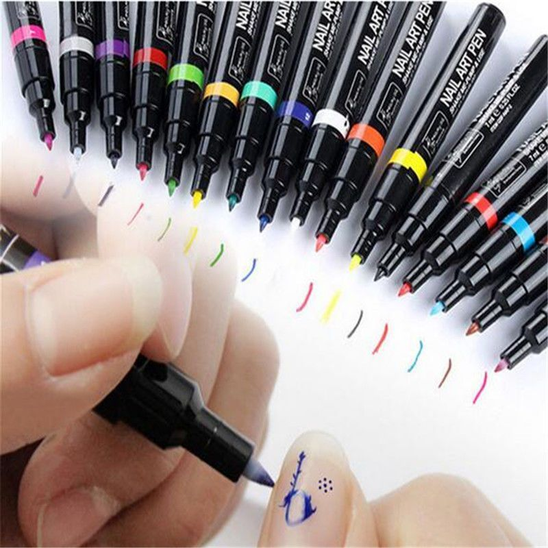 UV Gel Polish Nail Art Pens http://www.deal-shop.com/product/3d ...