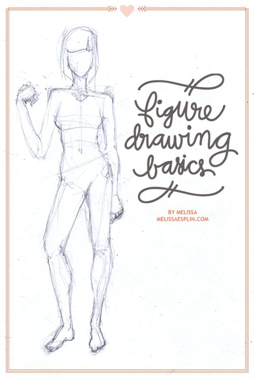 Figure drawing basics. Because someday I want to be able to draw ...