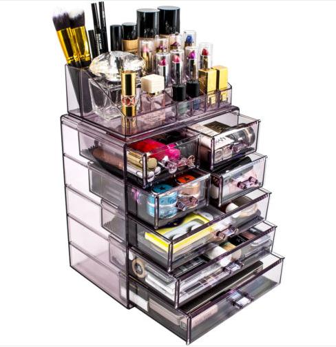Makeup Storage Organization, Makeup Storage In Specially Designed Furniture