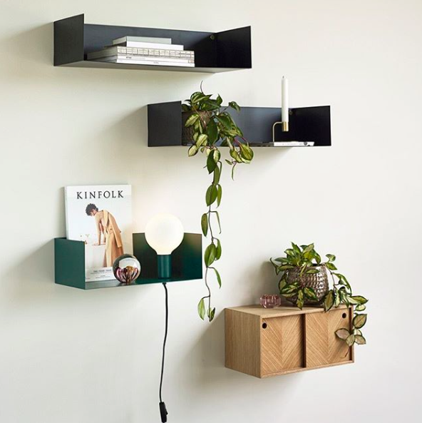 Photo of Wall Tray Lamp