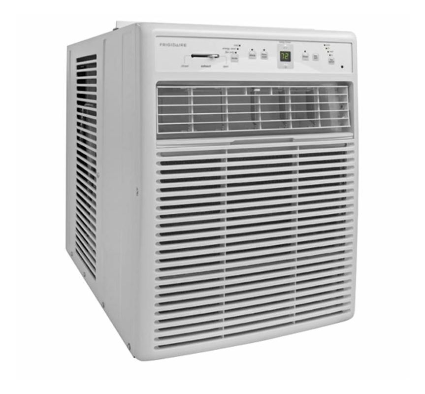Frigidaire Ffrs1022r1 White 10000 Btu 115 Volt Casement Air Conditioner With Remote Control In 2020 Window Air Conditioner Casement Window Air Conditioner Casement Air Conditioner