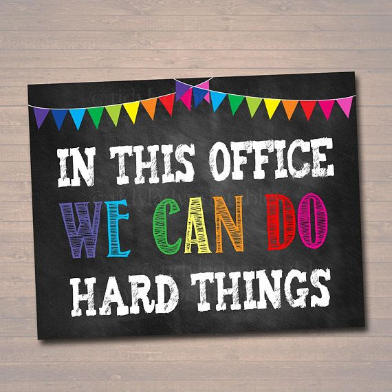 Counseling Office Poster Counselor Office Decor Therapist