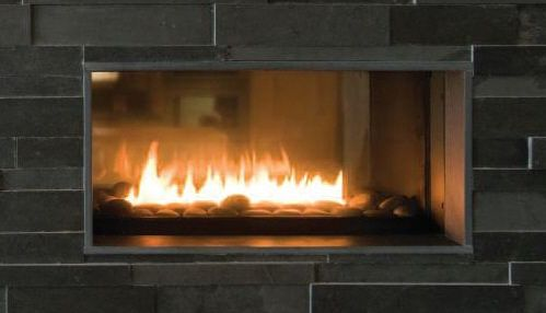 gas logs in two sided fireplace hearth com questions and answers rh pinterest com See through Double Sided Fireplace See through Fireplace Ideas