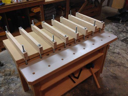 Veneer Press using Workbench