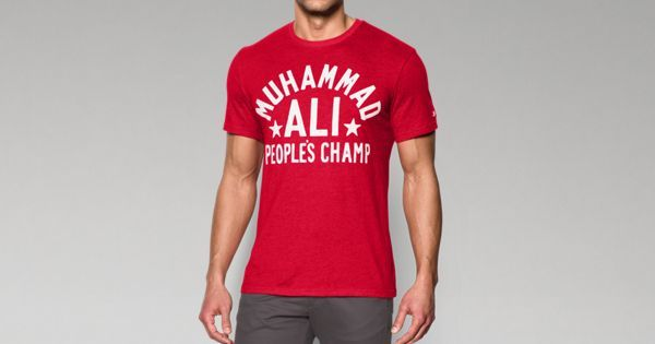 9ddc2037 Under Armour for Men's Roots Of Fight™ Muhammad Ali People's Champ T-Shirt  XL ($35)