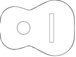 Image Result For Acoustic Guitar Cake Template Guitar Cake Acoustic Guitar Cake Cake Templates