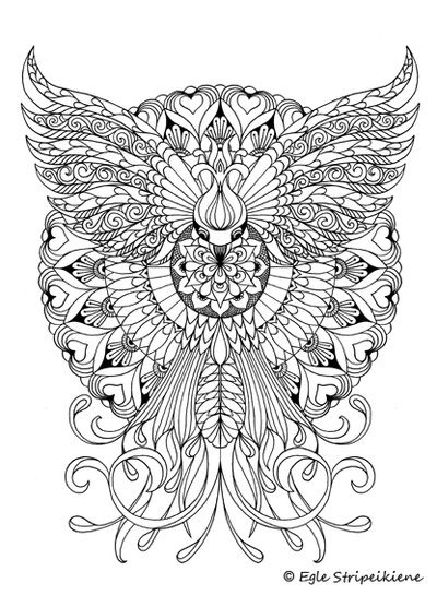 Coloring book COLORS OF CALM - egle art & design | Мандала ...