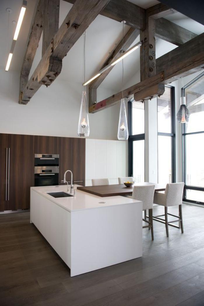 Découvrez nos 84 jolies propositions pour cuisine avec bar Kitchens - idee bar cuisine ouverte