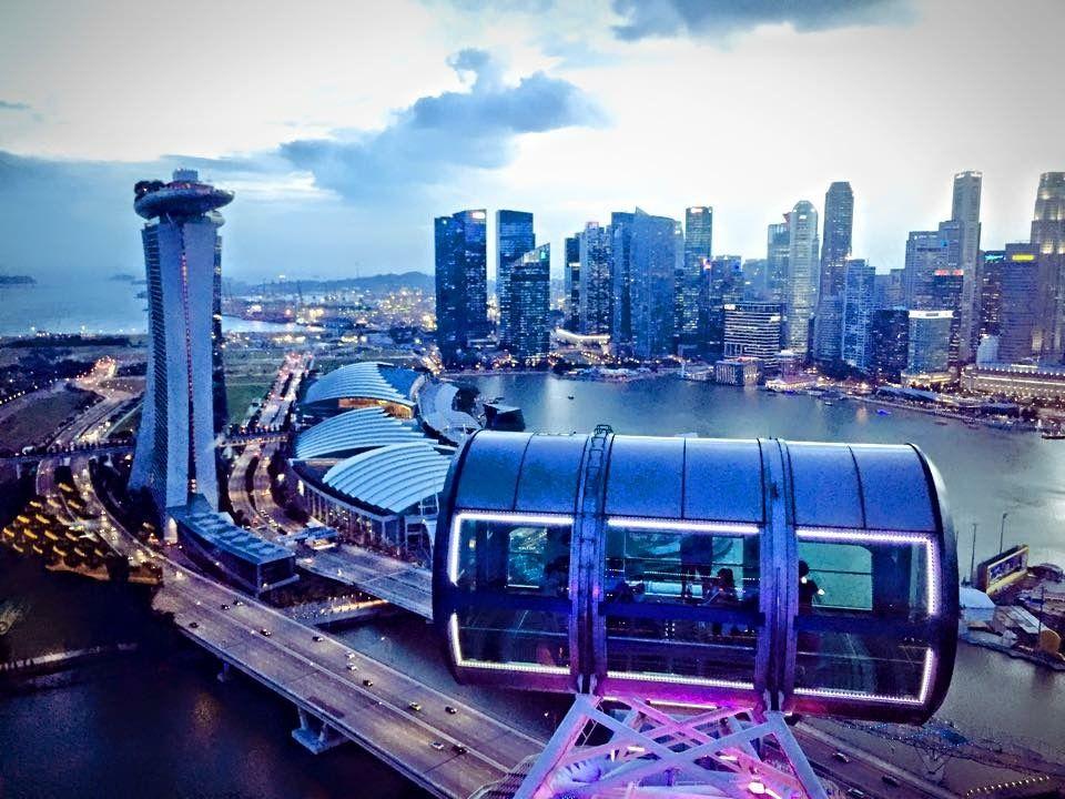 Singapore wheel - 2014
