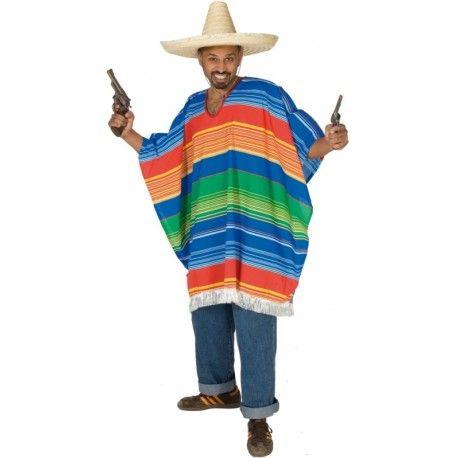Mexicain Poncho poncho pour enfants et ados