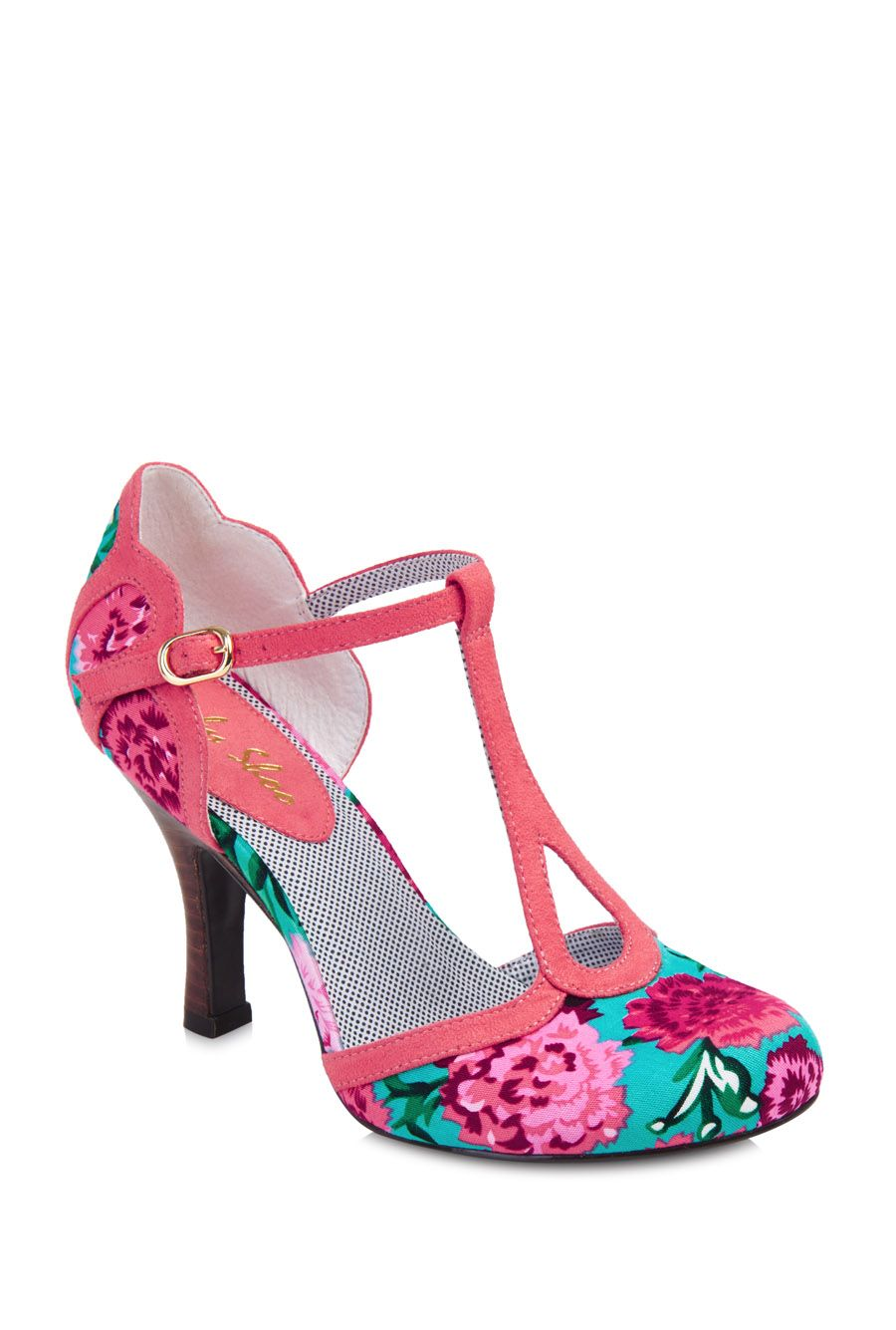 733b0d0c Ruby Shoo Polly Coral Heeled Shoe | clothes | Shoes, Coral heels ...