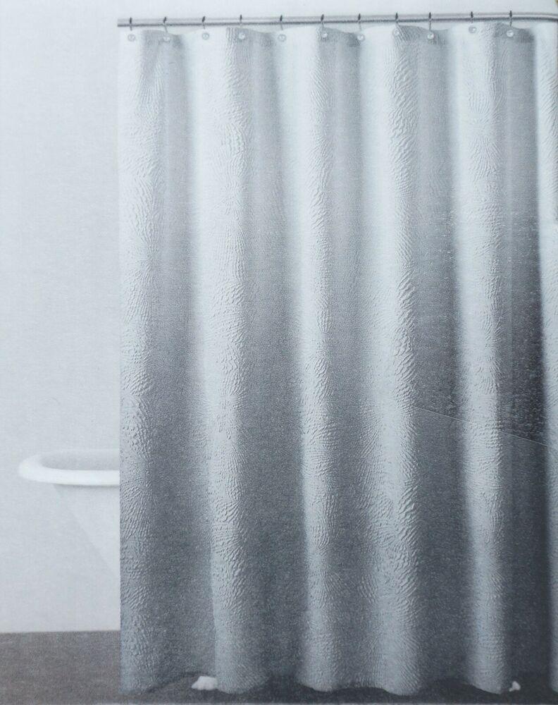 Shower Curtain Set Home Decor Ombre Colorful Design Black Gray Bath Curtains