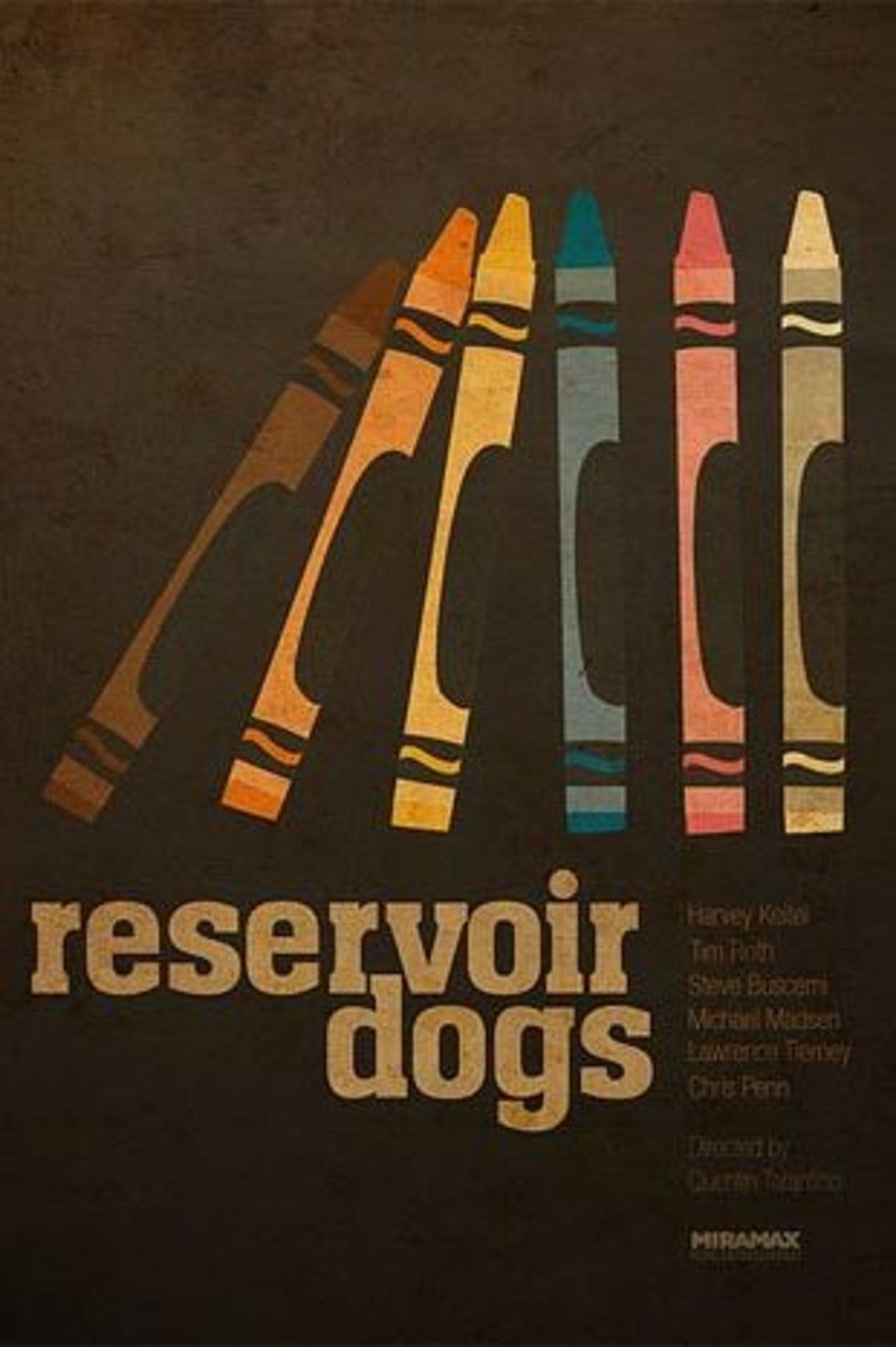 RESERVOIR DOGS Movie PHOTO Print POSTER Textless Film Art Quentin Tarantino 003