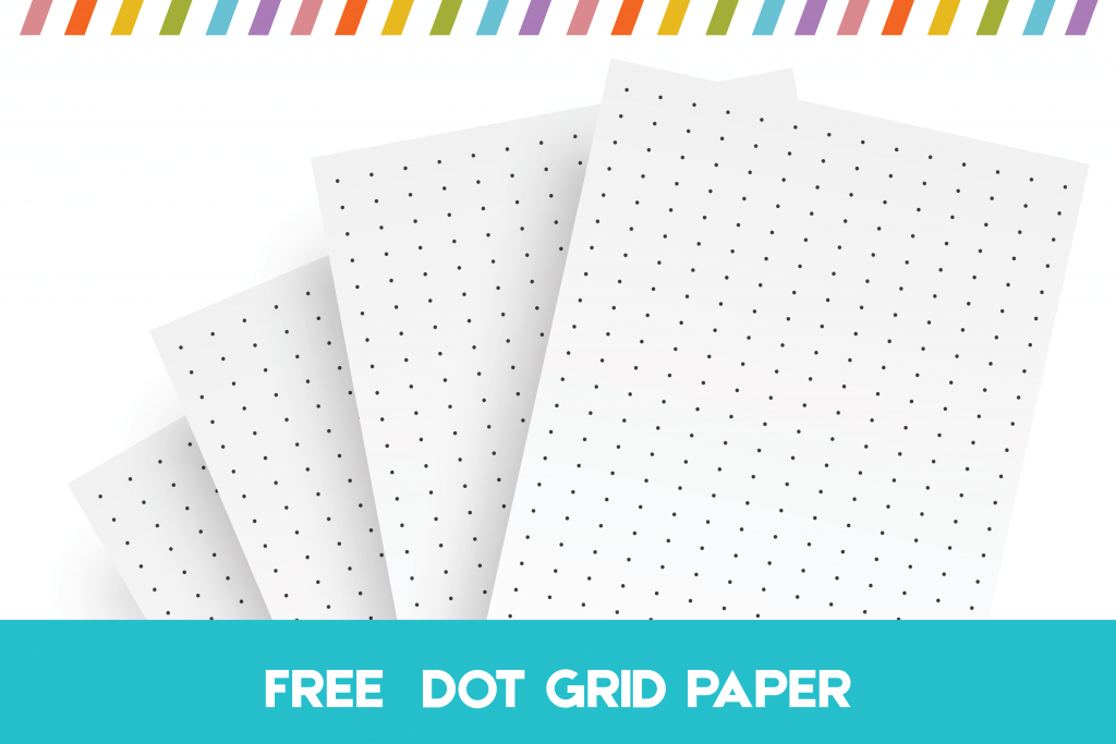 Free Printable Dot Grid Paper For Bullet Journals And Notes Bullet Journal Dot Grid Bullet Journal Free Printables Grid Paper