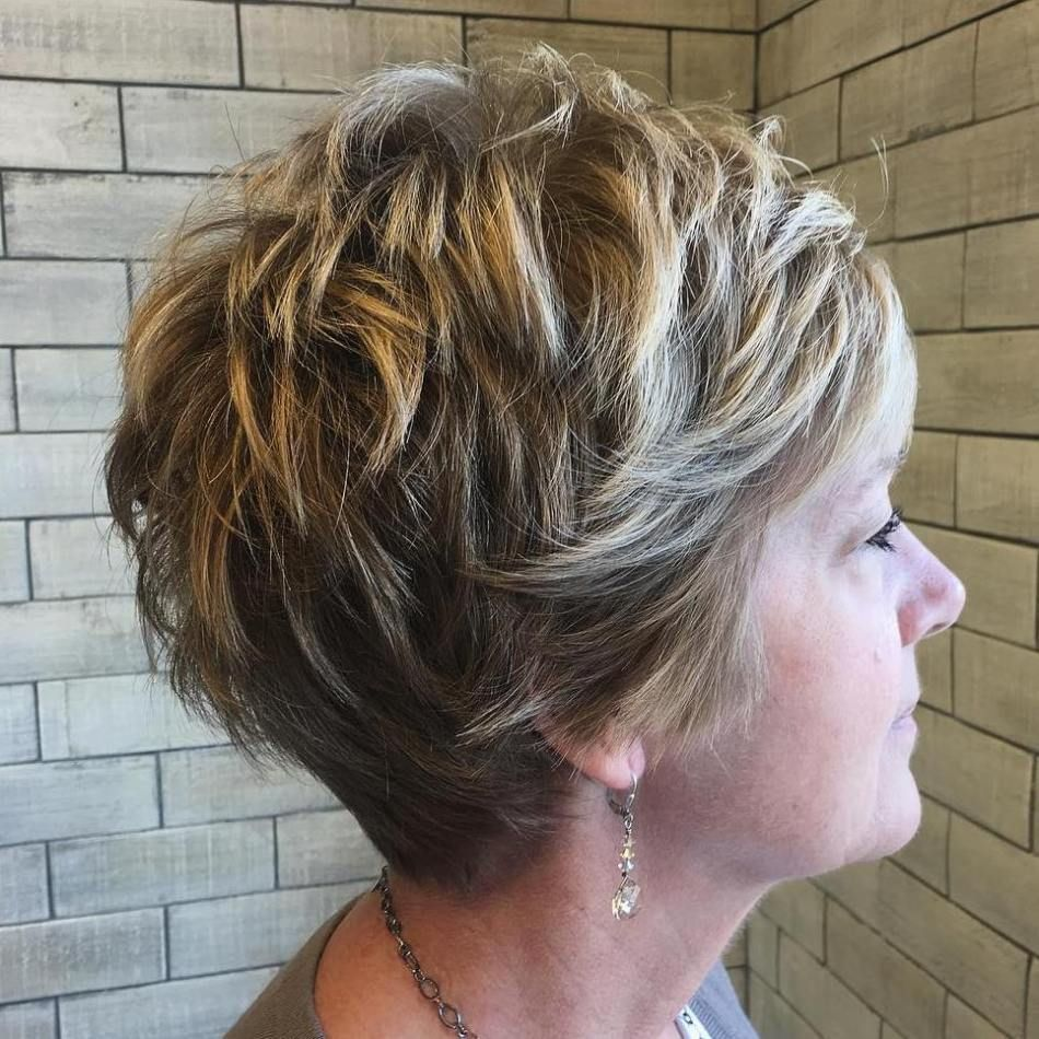 Short hairstyles for women over simple and noble